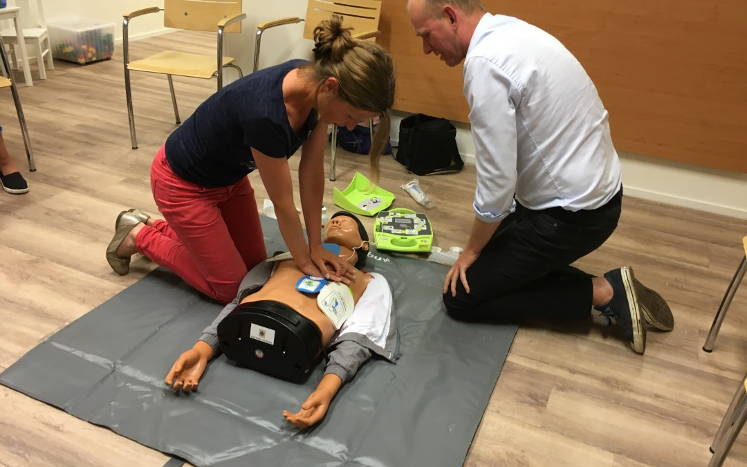 Reanimatietraining in de praktijk