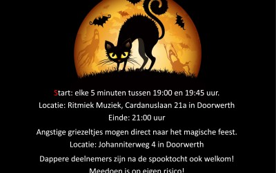 Halloween spooktocht